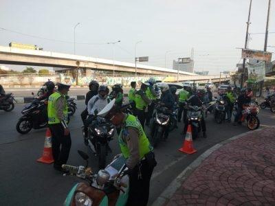 Sebanyak 9.384 Kendaraan Terjaring Operasi Patuh Lalin di Polres Jakut