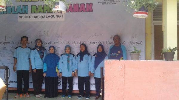 Siswa siswi SD Negeri Batu Tulis 3 antusias ikuti acara sekolah ramah anak