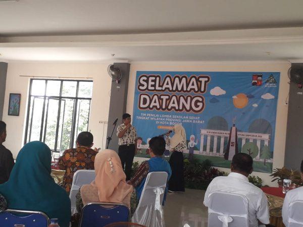 Tim Penilai Lomba Sekolah Sehat Tingkat Wilayah Provinsi Jawa Barat kunjungi SMP Negeri 5 Kota Bogor
