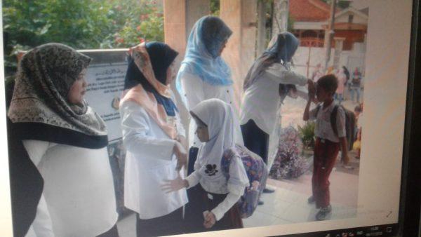 Peringatan Hari Sekolah Ramah Anak juga dirayakan di SDN Julang Kota Bogor.