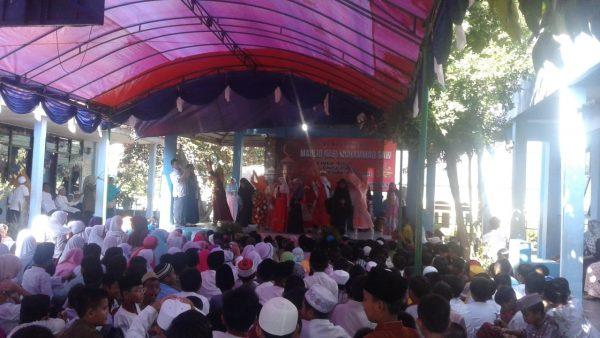 SDN Bantarjati 5 Kota Bogor Rasakan Hari Besar Umat Islam, Maulid Nabi Muhammad SAW