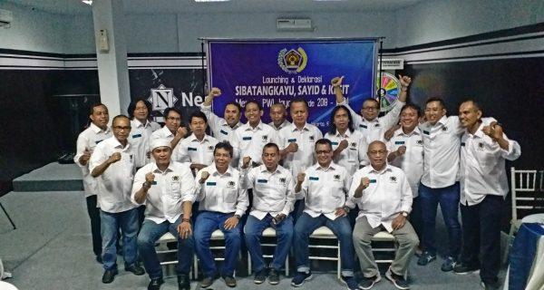 Sejumlah anggota seksi wartawan di tubuh PWI DKI Jakarta Dukung Pencalonan SSK
