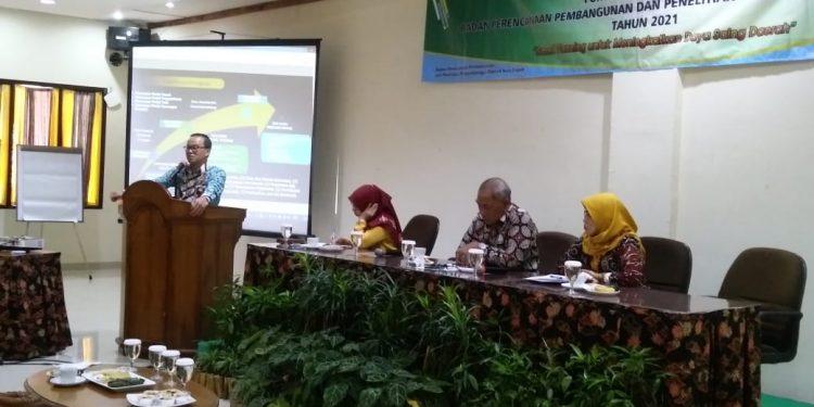 Forum Renja Bappeda TA 2021 Dipimpin Moderator Handal