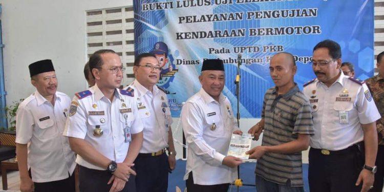 Dishub Kota Depok Luncurkan Smart Card