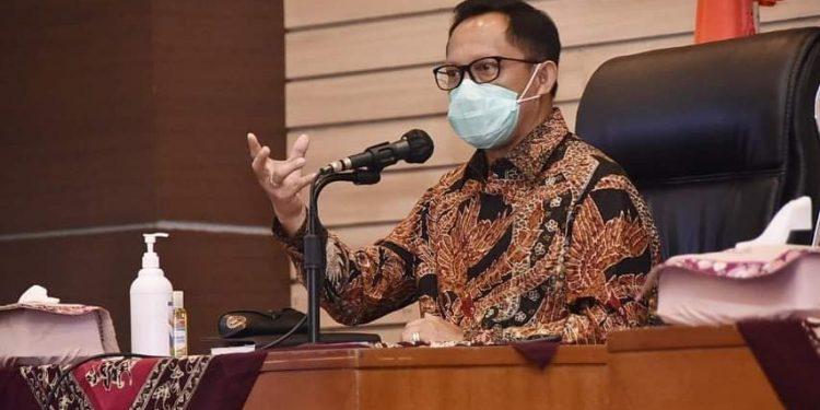 Menteri Dalam Nageri Kunjungi Kota Depok