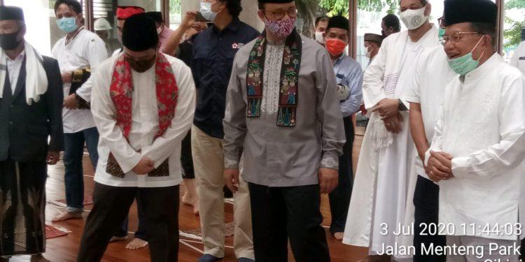 Gubernur DKI Resmikan Masjid Amir Hamzah Taman Ismail Marzuki