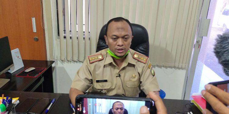 Kepala Dinas Kesehatan Kabupaten Indramayu.Dr.Deden Boni Kuswara