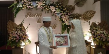 Happy Wedding dr Radi Irdianto & dr Relita Dwinda (Putri bpk Usman Musthafa, Dewan Penasehat KORANSATU.ID) Semoga menjadi keluarga Samawah, Sabtu 11 Juli 2020 . Hotel Savero Depok