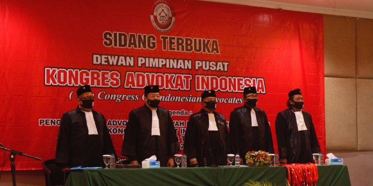 Pengangkatan 40 Advokat di DPD KAI Jatim Pertegas Integritas Advokat Handal
