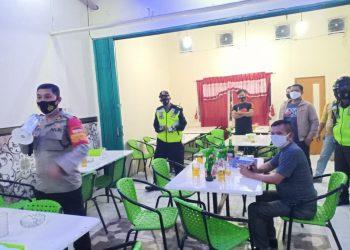Kapolsek Pasar Kemis Turun Langsung Dalam Oprasi Yustisi Penertiban Protokol Kesehatan