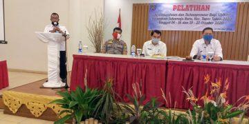 Pelatihan Kewirausahaan dan Technopreneur Untuk Pelaku UMKM di Kelurahan Sukamaju Baru.