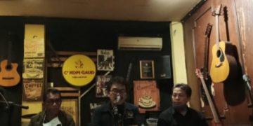 PWI Kab. Indramayu menggelar conference Pers meanggapi video Viral Apdesi