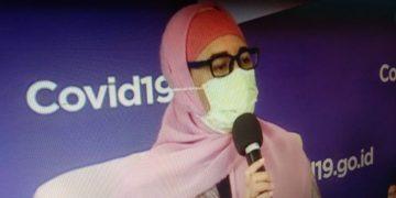 """FOTO: Komisioner Komisi Perlindungan Anak Indonesdia [KPAI] Bidang Pendidikan, Retno Listyarti, dalam diskusi daring yang ditayangkan YouTube BNPB Indonesia, dengan tema """"Belajar Efektif di Musim Pandemi,"""" Jumat (13/11/2020)/Heru Lianto"""