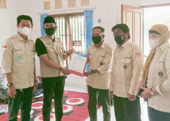 Peresmian Sekretariat PWI dan Penyerahan SK PWI Peduli Kabupaten OKI