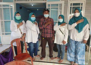 Vaksin di Sukamaju Baru Antusiasme Warga Masih Tinggi